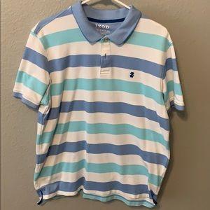 striped polo short sleeve